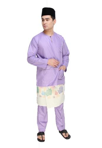 Amar Amran purple Baju Melayu Teluk Belanga D595FAABECE2CBGS_1