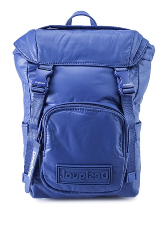 Desigual black Small Padded Backpack DE4EDAC07D6D50GS_1