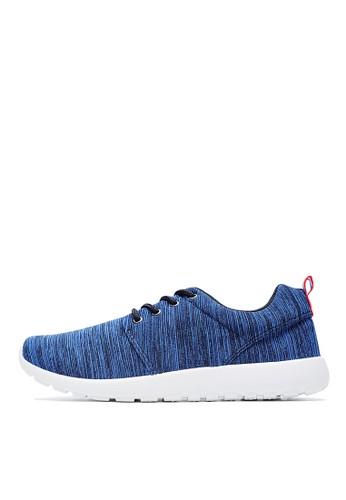 MIT。針織段染布。觸感繫帶休閒鞋-09282-藍色、 鞋、 休閒鞋Life8MIT。針織段染布。觸感繫帶休閒鞋-09282-藍色最新折價
