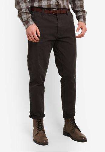 ESPRIT grey Woven Regular Pants ES374AA0SAYKMY_1