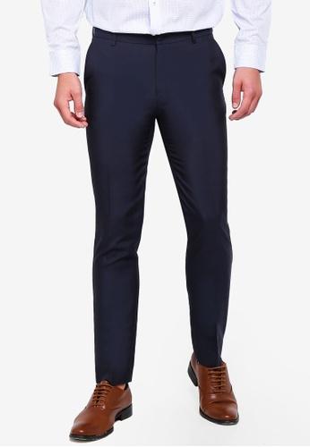 aefab97f8a6 G2000 navy Poly Plain Weave Formal Pants A6D84AA0903375GS 1