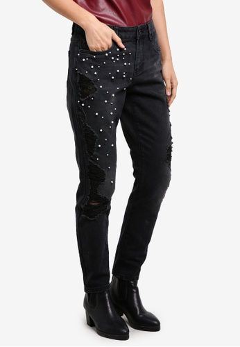 ONLY black ONLY ONE Lima Pearl Jeans ON573AA0S3Y3MY_1
