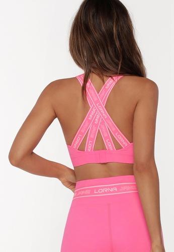 Lorna Jane pink Tempo Sports Bra E2443USF5D60E0GS_1