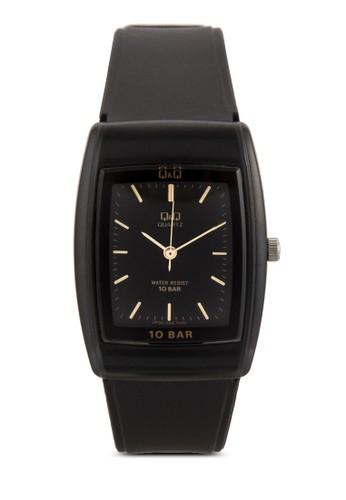 VP30J006Y 刻度顯示橡膠方錶, 錶類, esprit outlet 旺角飾品配件