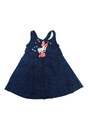 KIDS ICON navy KIDS ICON - Dress Anak Perempuan Disney Minnie 03-36 Bulan With Printing Detail - MG5S0100200 02A0EKA370F795GS_1