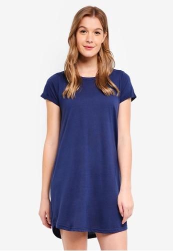 Cotton On navy Tina T-Shirt Dress 338E7AAE81020CGS_1