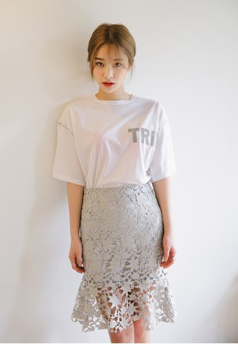 esprit 中文文字設計TEE, 服飾, 上衣