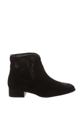 Anacapri 黑色 麂皮靴子 8C90FSH2296384GS_1