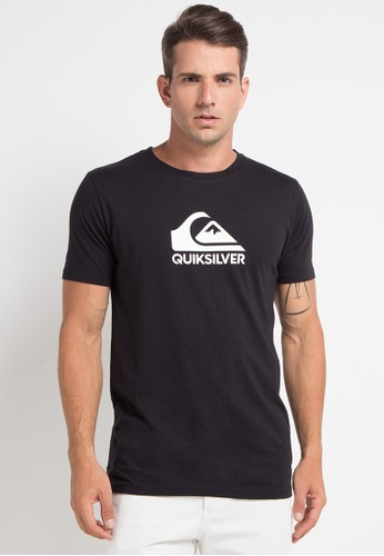Quiksilver black and multi As Basic Logo T-Shirt C2BA3AAAAAC10CGS_1