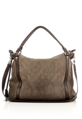 Louis Vuitton brown Preloved Taupe Monogram Antheia Ixia Hobo Bag 025D4AC89F5362GS_1