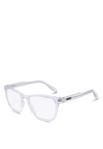 Quay Australia 白色 HARDWIRE Glasses D532AGLD6FAF11GS_1