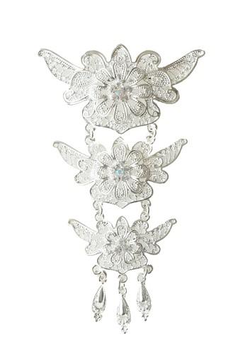 Benangsari silver Asehra Brooch 41340ACB417208GS_1