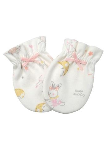 Organic mom beige Organic Dreamy Bunny  Mittens (FALL) F5A0DKC543D7B6GS_1