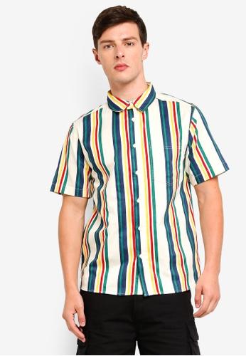 Factorie 多色 Short Sleeve Oversized Shirt AEFE4AA842A3E3GS_1