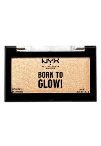 NYX Professional Makeup multi NYX Professional Makeup Born To Glow Highlighter Singles - BTGH02 CHOSEN ONE 62E42BE061CF6CGS_1
