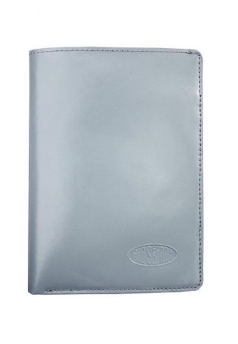 Big Skinny Wallets grey Leather Traveler's Wallet BI722AC81KOCPH_1