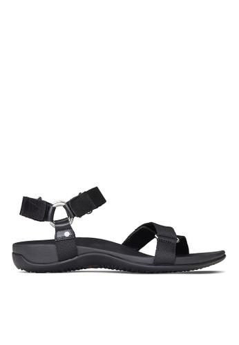 Vionic black Candace Sandal B77F5SH7C1F57FGS_1