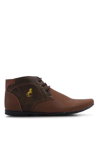 Matarazo brown Timothy Chukka Boots 40E2ESHAB18803GS_1
