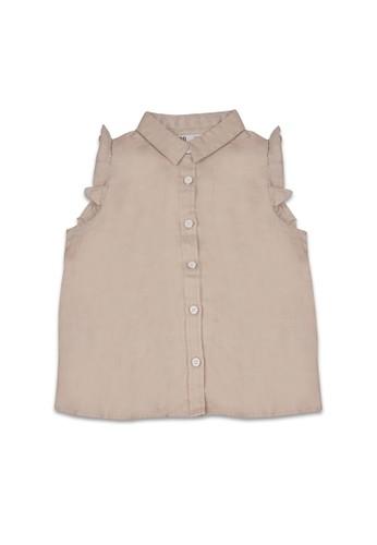 Giordano brown Junior Linen Shirt 32D07KAE004DCBGS_1