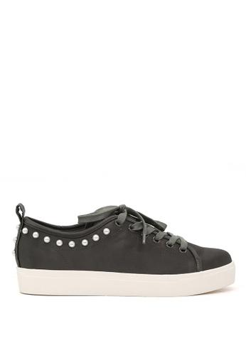 London Rag grey Grey Pearl Lace Up Sneakers SH1587 B81FDSH5673947GS_1