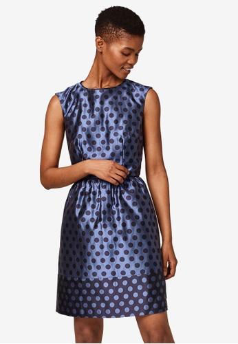 ESPRIT navy Light Woven Mini Dress 1E4FDAA73E2B4FGS_1