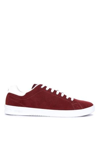 Etnies red Callicut Ls Sneakers D1505SH5C6777DGS_1