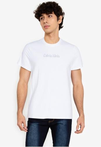 Calvin Klein multi Calvin Klein Jeans Embossed LOGO Slim Short Sleeve TShirt 9DC79AA10E51F2GS_1