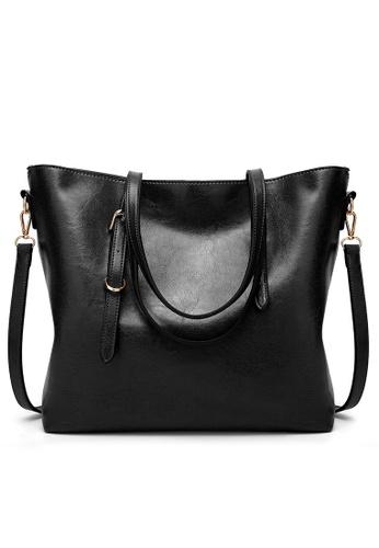 Lara black Women Synthetic Shoulder Bag 622B1ACABEB113GS_1
