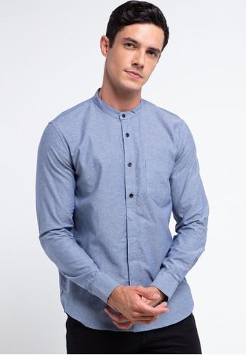 Men's Top blue RUBIN-BLUE Shirt 1D852AA0492181GS_1
