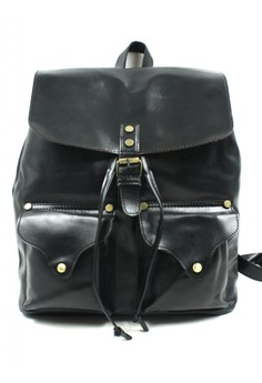 Womans Lea Leather Backpack