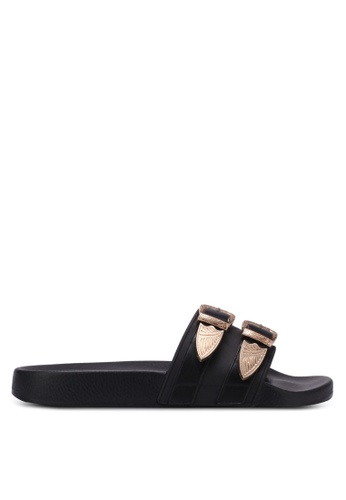 TOPSHOP black Hayden Western Sliders TO412SH0RY4FMY_1