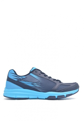 ACCEL blue Chrono Running Shoes 03796SH297A471GS_1