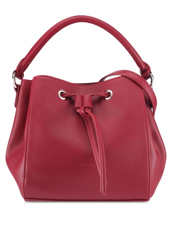 Marie Claire red Bucket Bag 7681DACA8B6585GS_1