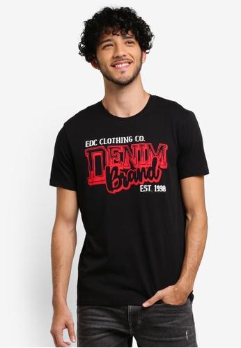 ESPRIT black Short Sleeve T-Shirt 6E081AAB2BFCA6GS_1