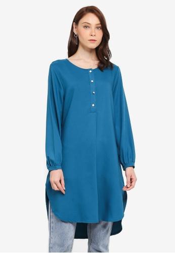 BYN green Muslimah Blouse A2A99AA3B47988GS_1