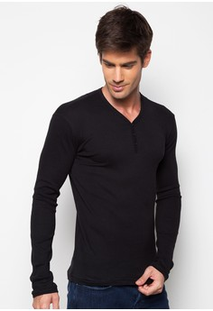 Henley Long Sleeves