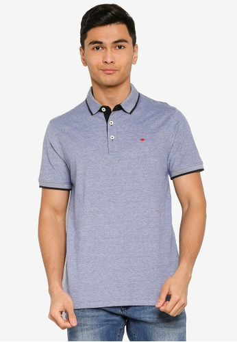 Produkt blue Paul Short Sleeves Polo Shirt C08BFAAD2BE51DGS_1