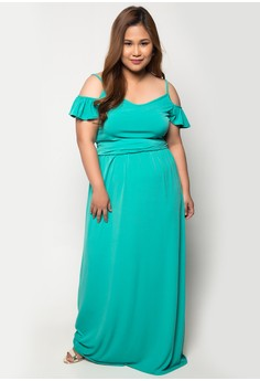 Plus Size Paradise Luxe Maxi Dress