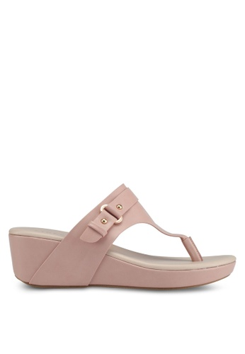 VINCCI pink Slip On Wedges 4A1BCSH1247EE7GS_1