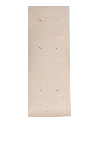 Milliot & Co. beige Let's Do Yoga Sport Mat (6MM) 5D1AFACC298691GS_1
