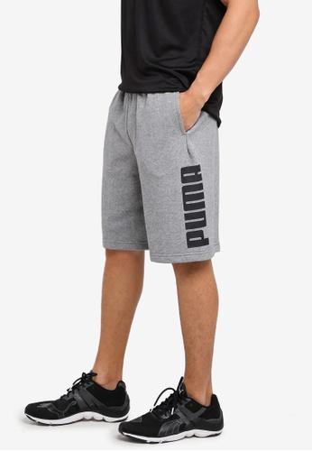 Puma grey Rebel Sweat Shorts PU549AA0SWJOMY_1