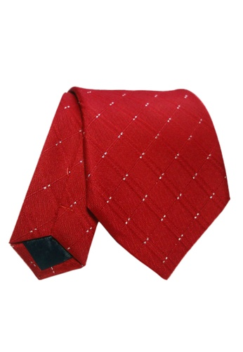 Well Suited red Elegant Necktie AE6E5AC48B8810GS_1