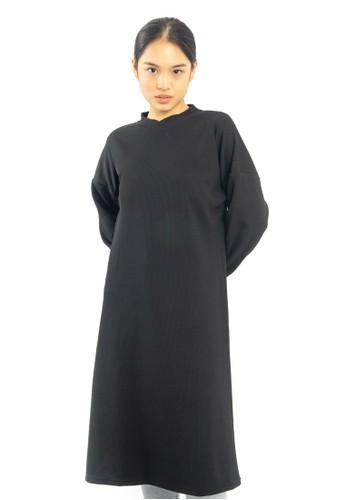 Heart and Feel black Elle Strech Dress BDB4DAA984B4D5GS_1