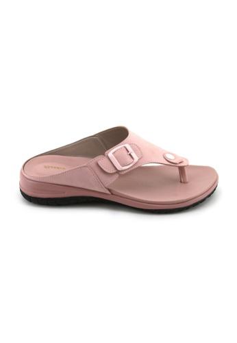 Bata Bata Women Pink Sandals - 5615667 CB59CSH6D91635GS_1