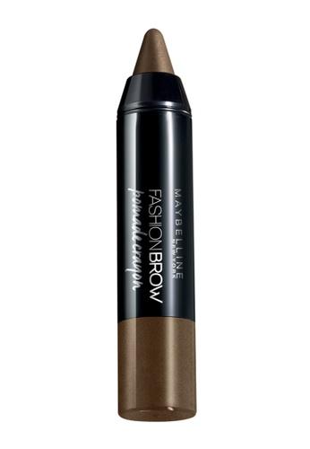 L'Oréal Paris brown Maybelline Fashion Brow Pomade Crayon BR1 LO618BE40MITMY_1