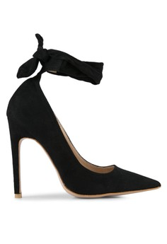 Image of Muse Tie Detail Court Heels