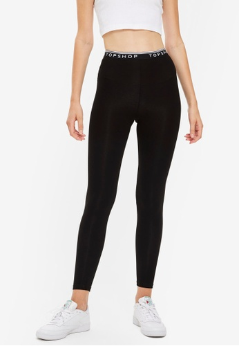 b0f213f6b67ea5 Buy TOPSHOP Topshop High Waisted Leggings Online | ZALORA Malaysia