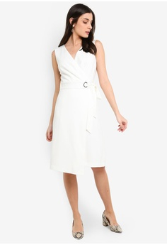 6eeac3223fc FORCAST Noemi Crossover Dress S  112.90. Available in several sizes