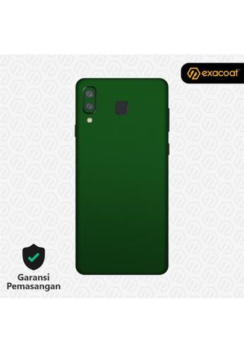 Exacoat Galaxy A8 Star 3M Skins True Colors - Emerald Green 2C7D9ESB8B6838GS_1