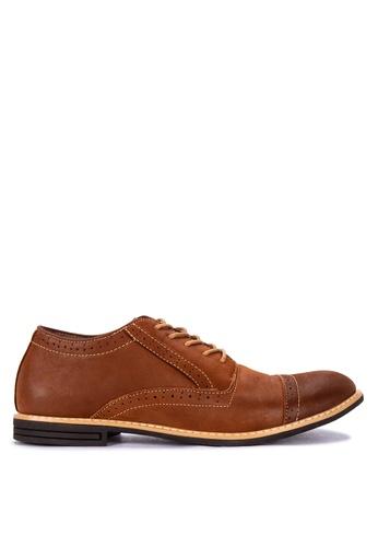 Mendrez brown Arnold Formal Shoes 1A670SHA989FDEGS_1